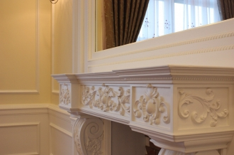 Classical style Mantel details -Themanor penthouse -Hanoi 2009