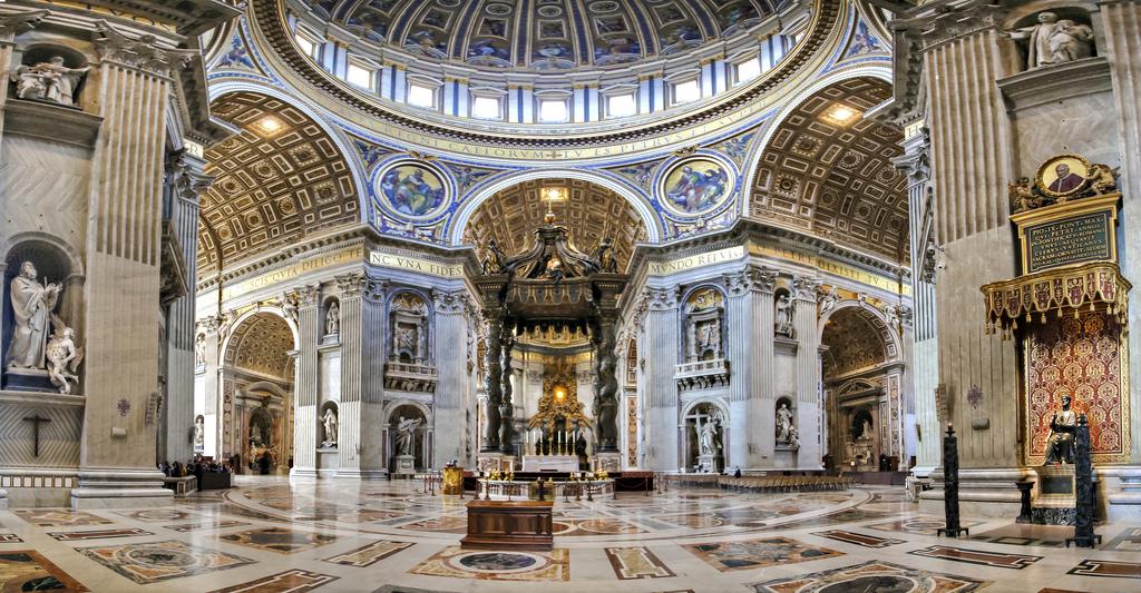 Image result for nhà thờ Thánh Peter Basilica,